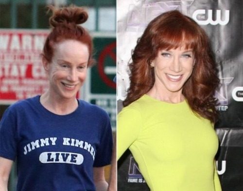 Kathy Griffin makeup