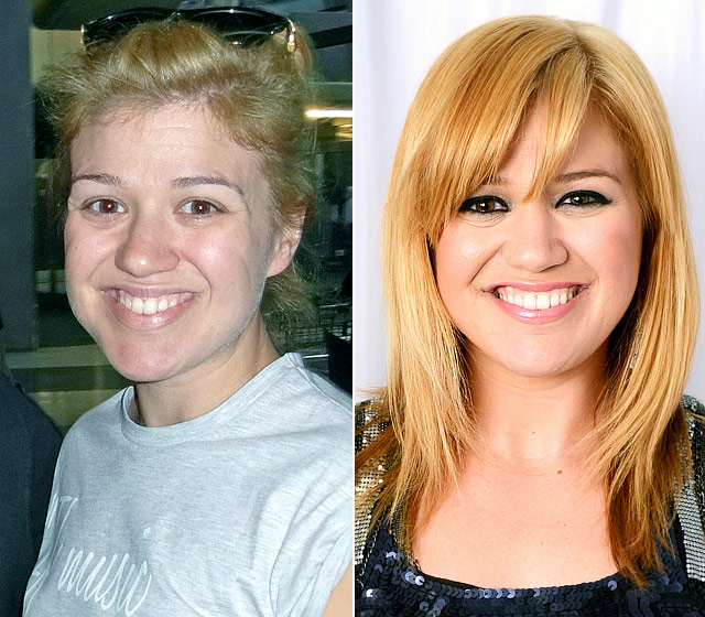 kelly-clarkson-make up
